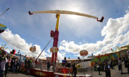 Feria de Pachuca cuenta con 39 juegos mecánicos