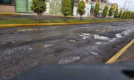 Habitantes de Zempoala se quejan por falta de pavimentaciones