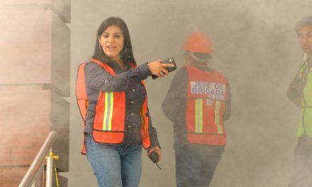 Realizan simulacro de sismo en Palacio de Gobierno de Hidalgo