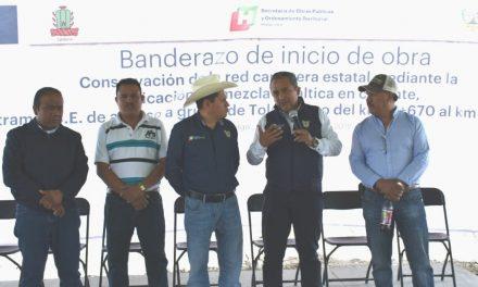 Inician trabajos en acceso de Grutas de Tolantongo