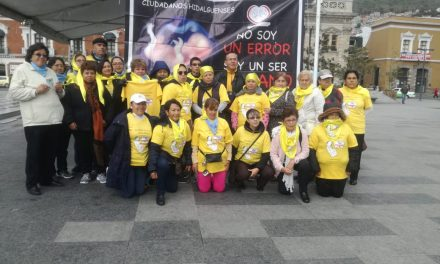 Realizan marcha Pro Vida en Pachuca