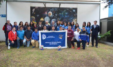 Alumnos del ITP participan en Evento Nacional Estudiantil Deportivo