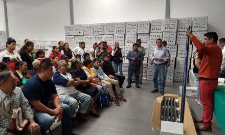 Benefician a 160 familias de Tolcayuca con calentadores solares