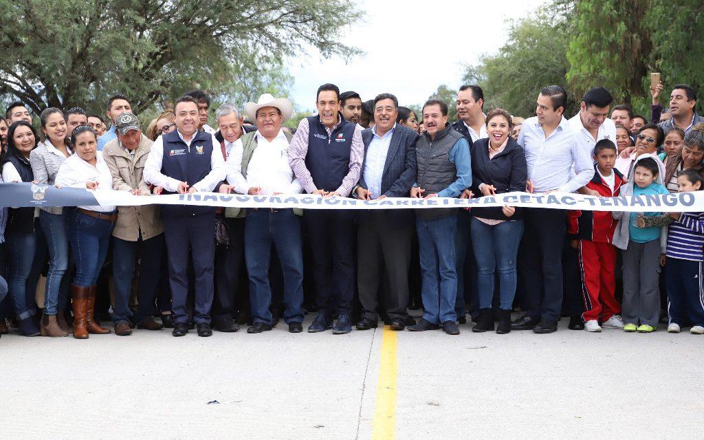 El gobierno estatal invirtió 48.2 MDP en Tezontepec de Aldama