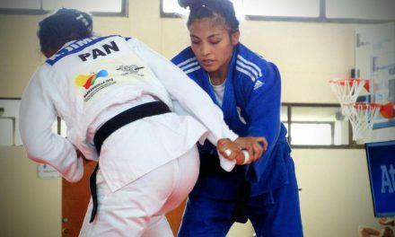 Hermanas Olvera caen en Grand Prix de judo