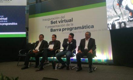 El gobernador inaugura  Set Virtual en RTVH