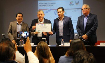Hidalgo nominado al Premio Internacional Pasaporte Abierto 2018