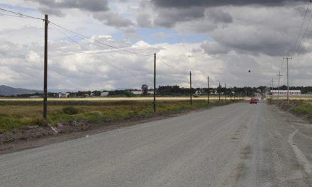 SOPOT reconstruye acceso a San Mateo Ixtlahuaca, Tolcayuca