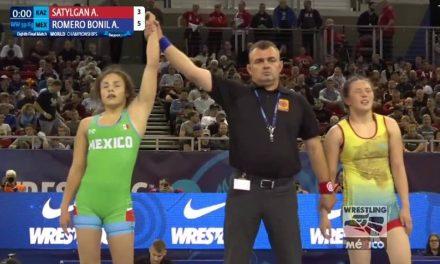 Ale Romero, quinto lugar en Mundial Senior