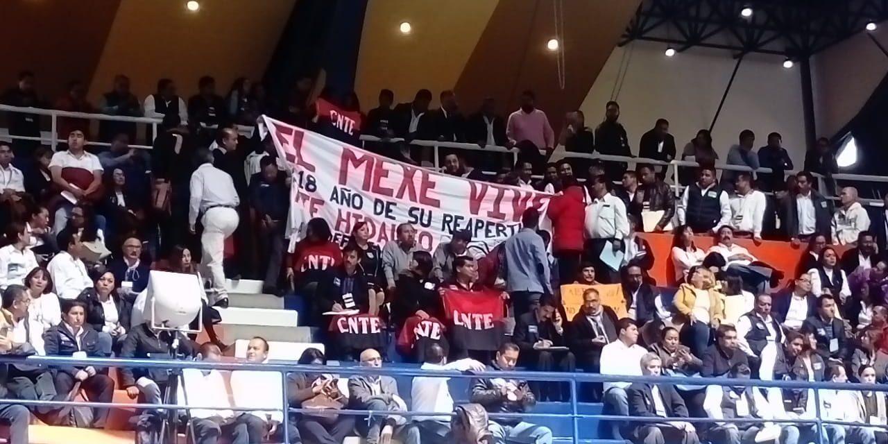 CNTE demanda reapertura del Mexe