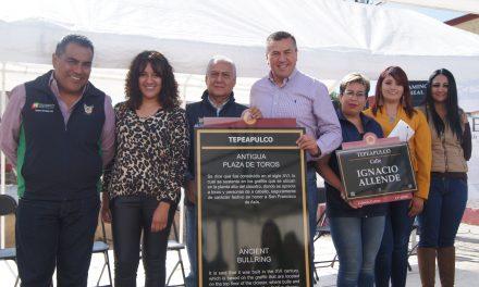Invierten 825 mil pesos en programa de señalética en Tepeapulco