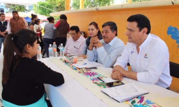 Audiencias fortalecen apoyos sociales: Jiménez Rojo