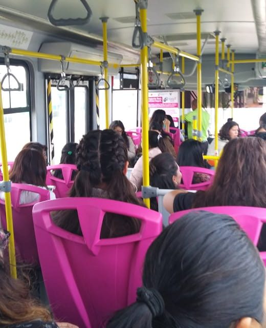 Piden especificar en pantallas si Tuzobús es rosa o normal