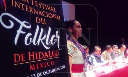 Presentan Festival Internacional del Folklor