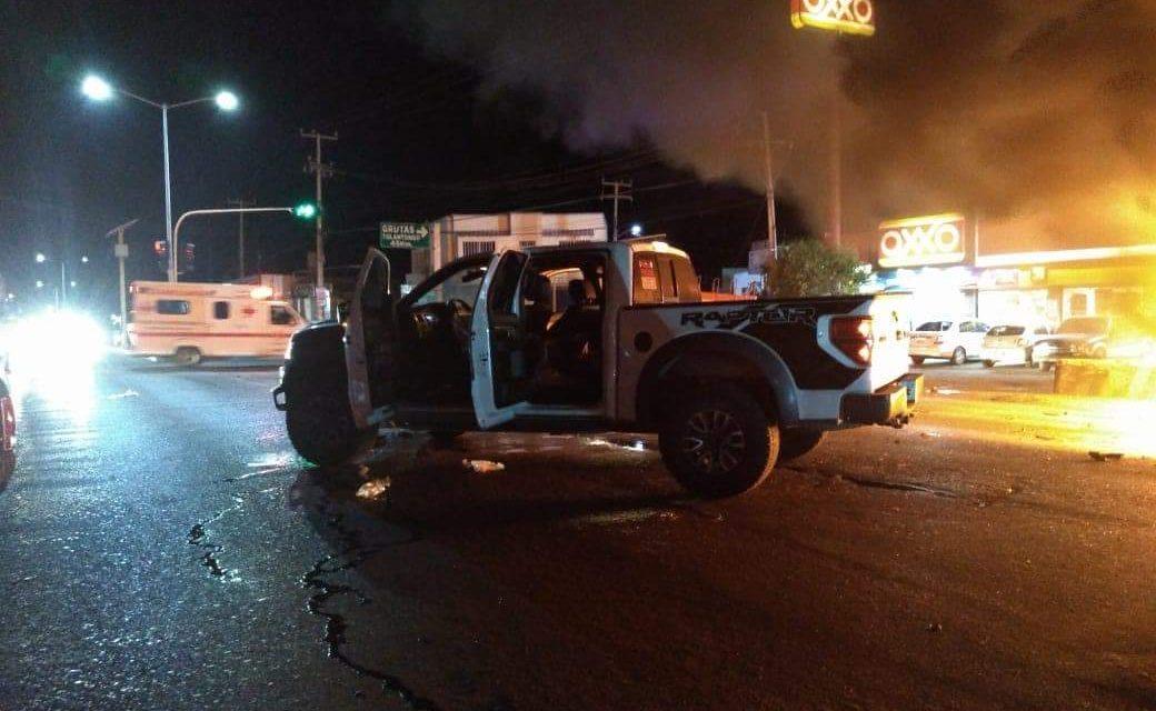 Cipriano afirma que no iba manejando su camioneta al momento del accidente