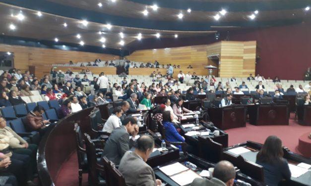A pesar de desacuerdos, continúa instalación de comisiones en el Congreso Local