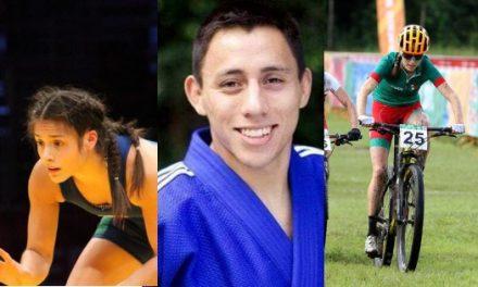 Tres deportistas, ganadores del PED 2018