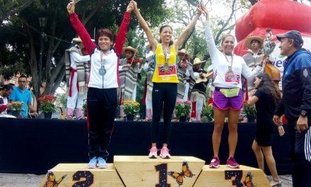Hidalgo conquistó el Nacional de Atletismo Máster