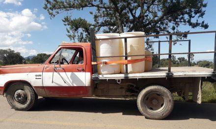 Recuperan 12 mil litros de combustible y siete automóviles en Cuautepec
