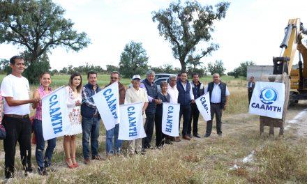 Amplían cobertura de agua potable y drenaje en Tizayuca