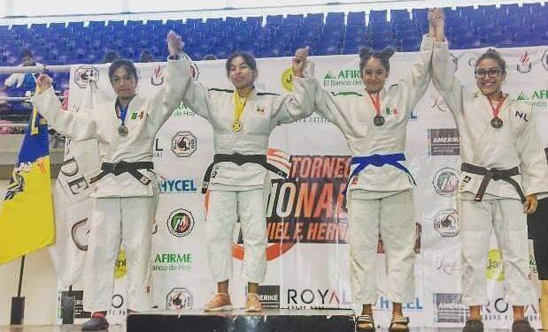 Múltiples medallas para Hidalgo en Nacional de Judo