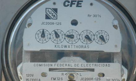 Tarifas de energía eléctrica afectan a comercios