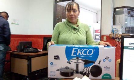 Implementan Programa «Equipa tu hogar» en Villa de Tezontepec