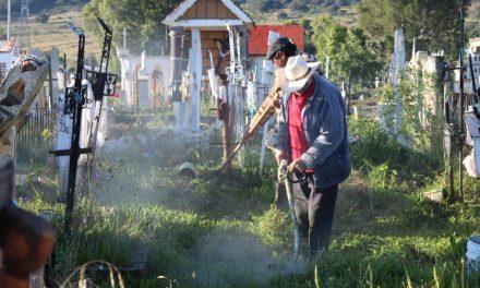 Ampliarán horarios de panteones en Santiago Tulantepec
