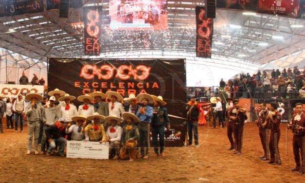 Tres potrillos, campeones del circuito Excelencia Charra 2018
