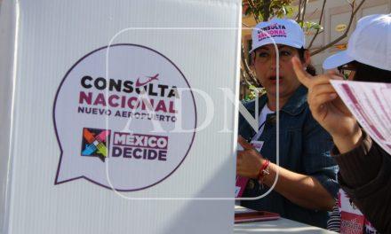 Divide opiniones el resultado de la encuesta del NAIM, en Pachuca