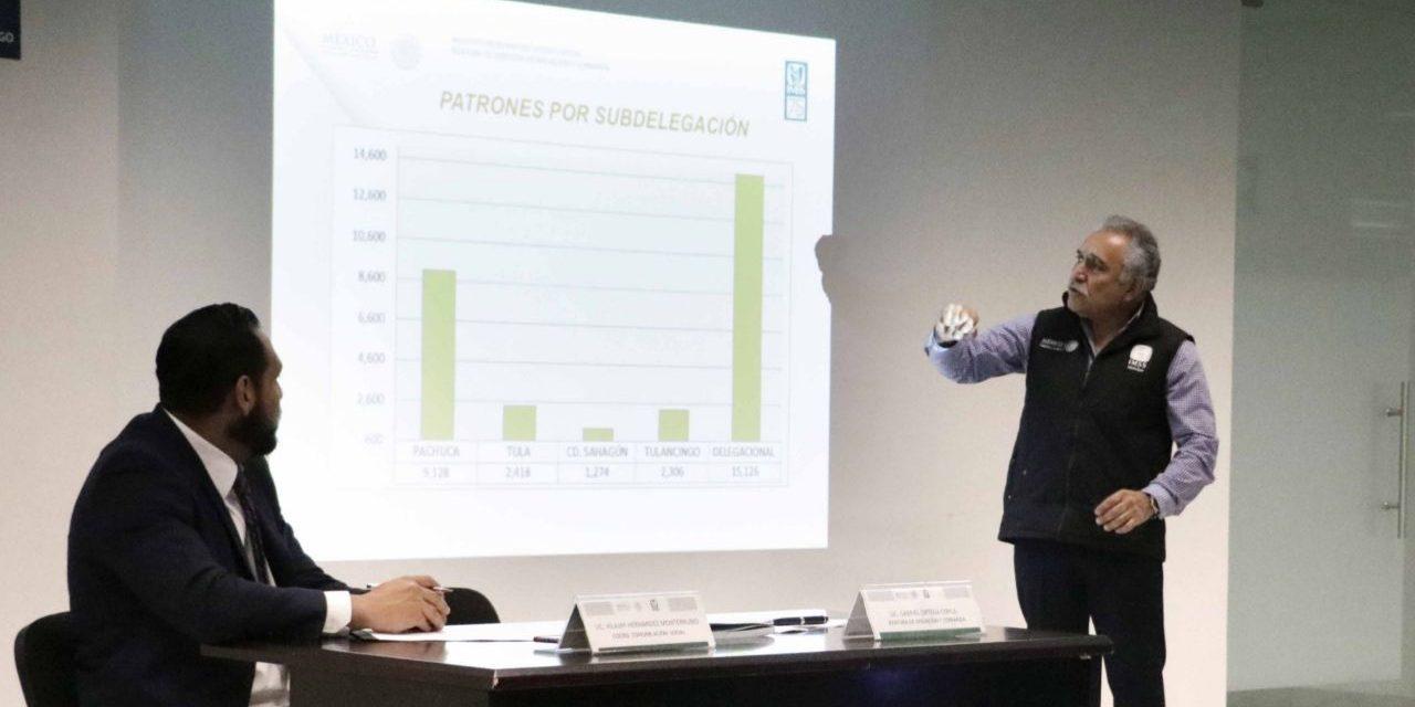 En Hidalgo aumentó 29% el registro de trabajadores en el IMSS