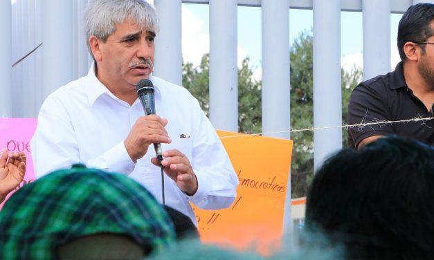 Dirigente de Morena, señala que deja un partido sólido y buenos resultados