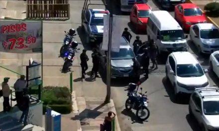 Cinco detenidos con videovigilancia y operativo policial en Tulancingo