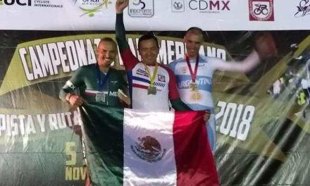 Seis medallas de Carlos Hernández en Panamericano de Ciclismo