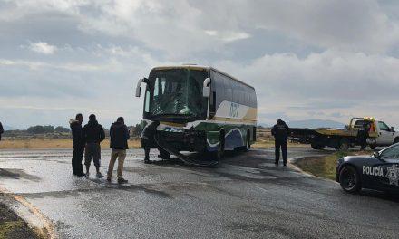 Accidente en la México-Pachuca deja cuatro lesionados