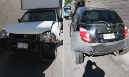 Tres vehículos involucrados en accidente sobre Colosio