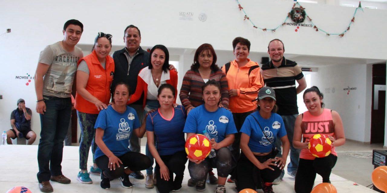 En Mineral de la Reforma realizan actividades correspondientes al mes naranja