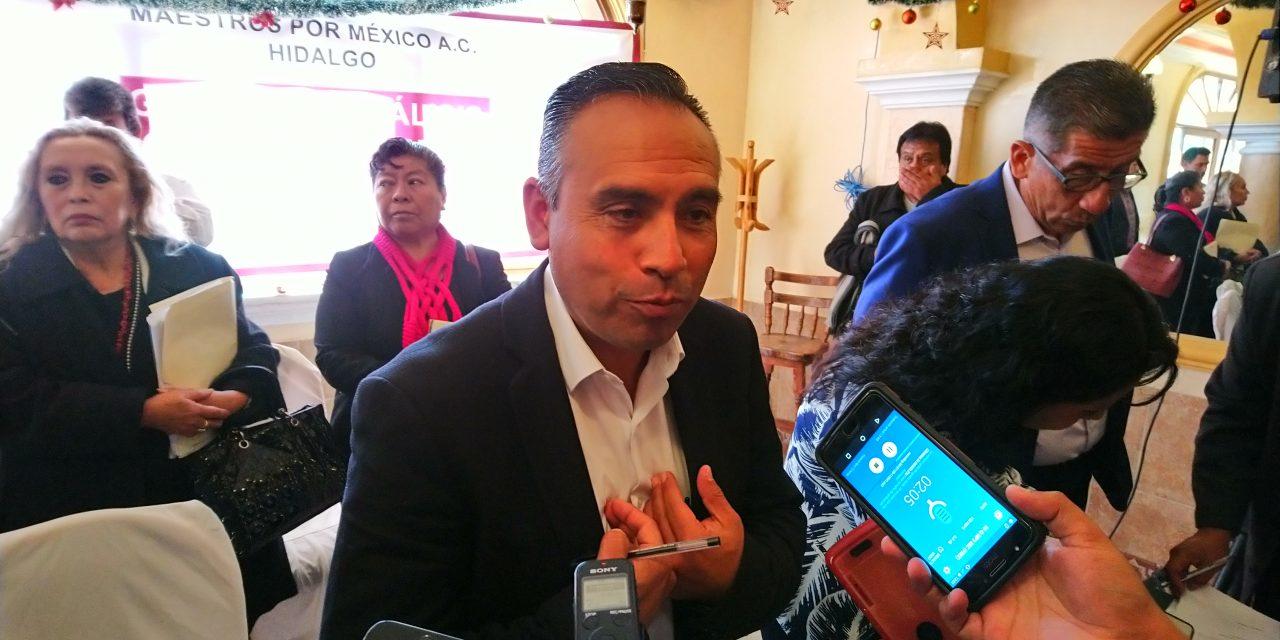 Acusan a Sinuhé Ramírez de desvío de 686 MDP del SNTE