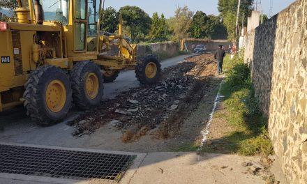 Reconstruyen entronque carretero Santiago-Tulancingo