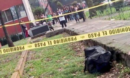 Encuentran restos humanos dentro de una maleta en Tlatelolco