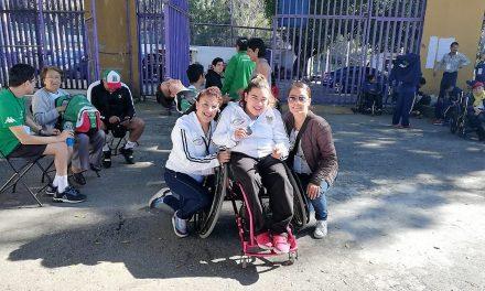 3 medallas para Hidalgo en Campeonato Nacional Multideportivo de Paralisis Cerebral