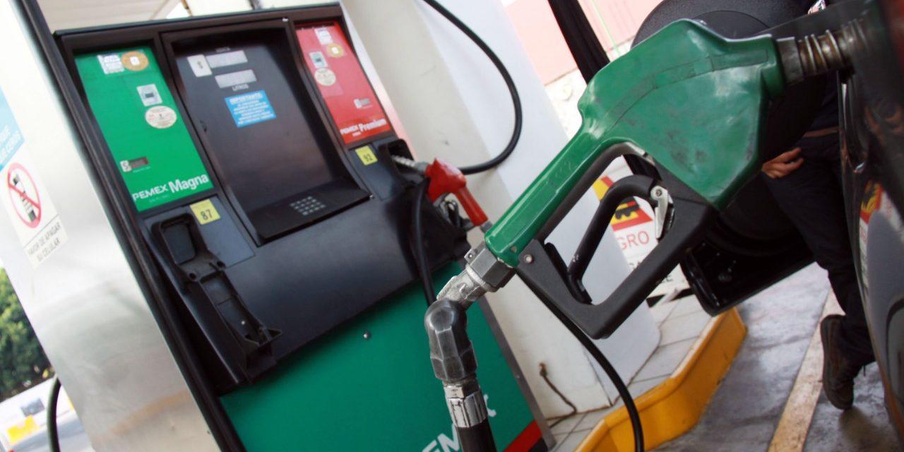 Gasolina magna costará 1.5 pesos menos por litro del 30 de marzo al 5 de abril