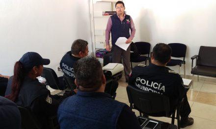 CNDH imparte pláticas sobre derechos humanos a policías municipales