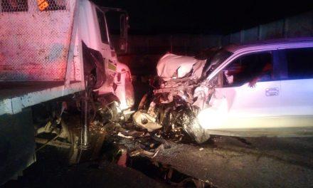 Accidente en retorno a La Calera deja un lesionado