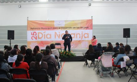 Impulsan medidas de prevención de violencia contra mujeres en Villa de Tezontepec