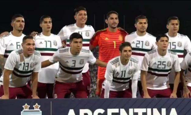 México no pudo con Argentina, perdió 2-0