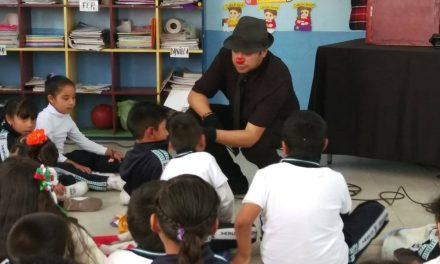 Niños de Tolcayuca son capacitados sobre medidas de autoprotección
