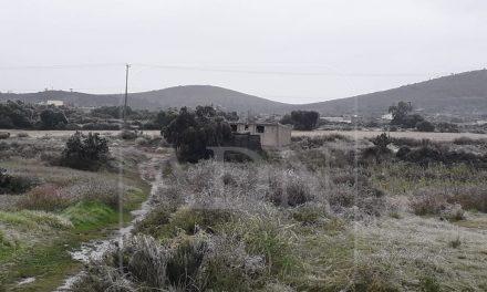 Cae nieve y aguanieve en municipios de Hidalgo