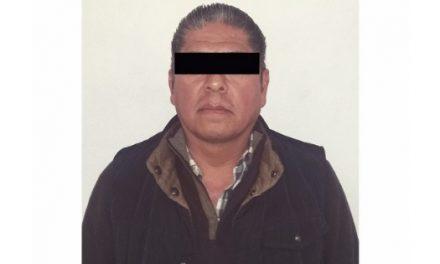 Asegura Policía estatal a hombre por presunto robo en Pachuca