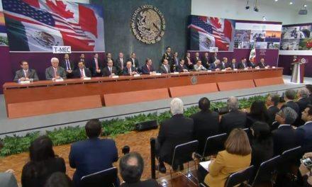 Reconoce el Presidente Enrique Peña Nieto al equipo negociador del T-MEC